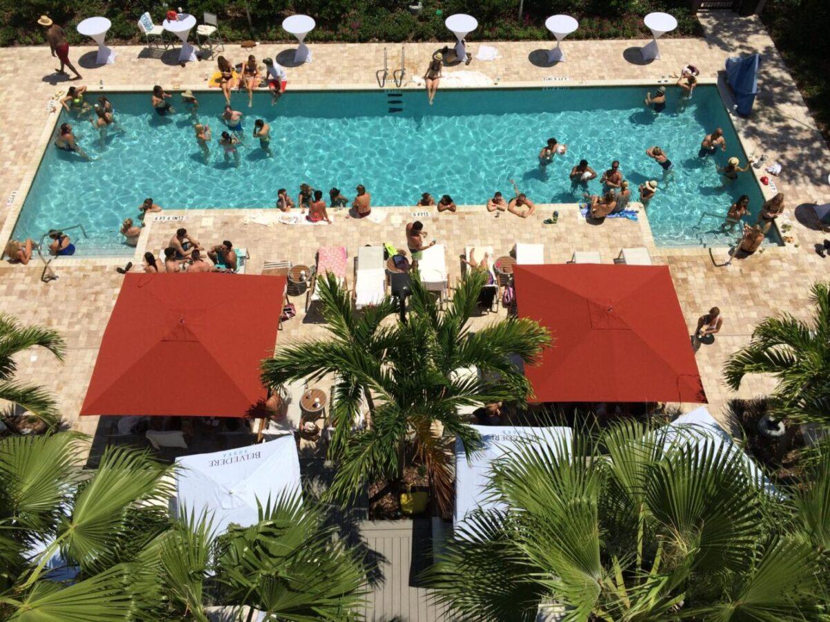 Splash sundays at the epicurean hotel for Florida pool show 2015