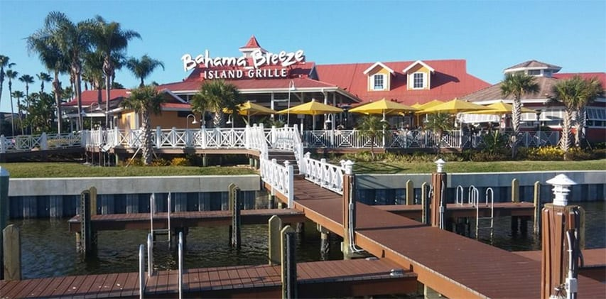 Bahama Breeze Island Grille in Tampa