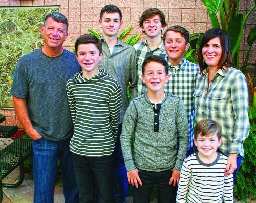 Gerardi Family at Tampa Prep